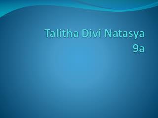 Talitha Divi Natasya 9a