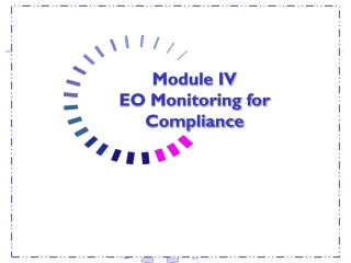 COMPLIANCE TRAINING  EQUAL OPPORTUNITY AND AFFIRMATIVE ACTION