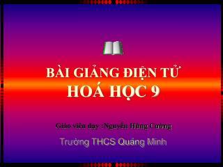 Trường THCS Quảng Minh
