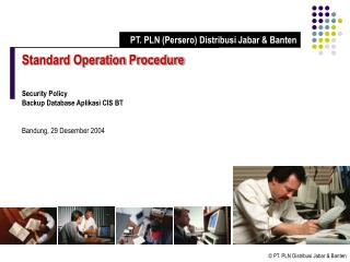 Standard Operation Procedure Security Policy Backup Database Aplikasi CIS BT