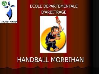 ECOLE DEPARTEMENTALE  D'ARBITRAGE