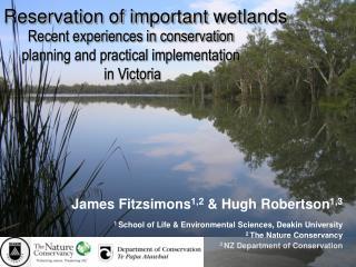 Reservation of important wetlands