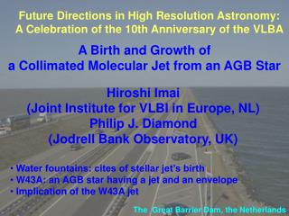A Birth and Growth of  a Collimated Molecular Jet from an AGB Star