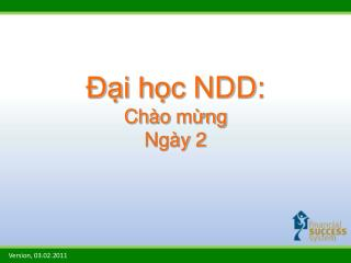 Đại học  NDD: Chào mừng Ngày  2