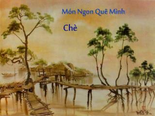 M�n Ngon Qu� M�nh