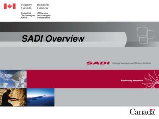 SADI Overview