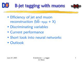 B-jet tagging with muons