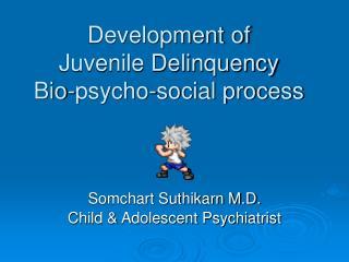 Development of  Juvenile Delinquency Bio-psycho-social process