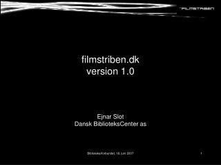 filmstriben.dk version 1.0
