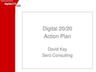 Digital 20/20  Action Plan David Kay Sero Consulting