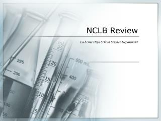 NCLB Review
