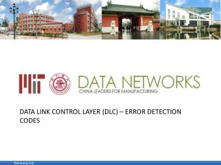 data link Control layer (DLC) – error detection codes