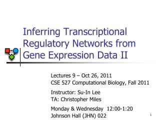 Inferring Transcriptional Regulatory Networks from Gene Expression Data II