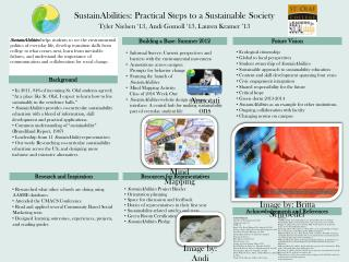 SustainAbilities: Practical Steps to a Sustainable Society