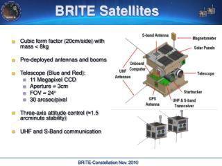 BRITE Satellites