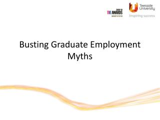 Busting Graduate Employment Myths