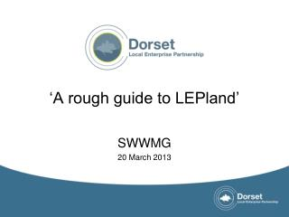 'A rough guide to LEPland'