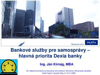Banka pre život