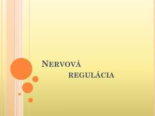 Nervová