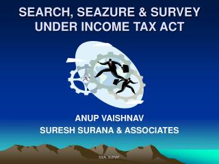 SEARCH, SEAZURE  SURVEY UNDER INCOME TAX ACT