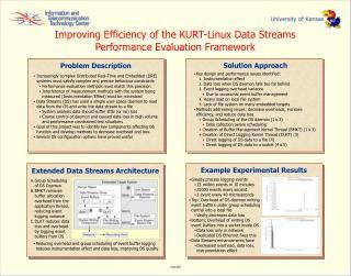 Improving Efficiency of the KURT-Linux Data Streams Performance Evaluation Framework