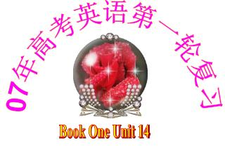 Book One Unit 14
