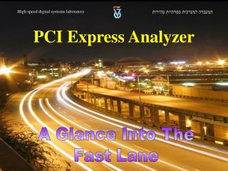 PCI Express Analyzer