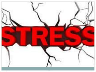 Kaj je stres?