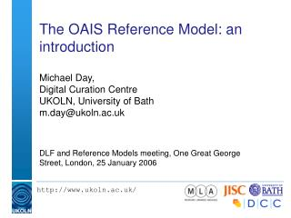 The OAIS Reference Model: an introduction