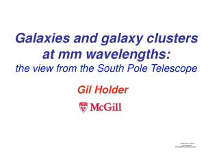 Galaxies and galaxy clusters at mm wavelengths:  the view from the South Pole Telescope
