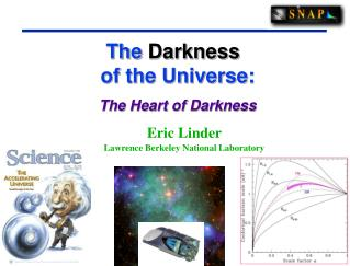 The  Darkness 	   of the Universe: The Heart of Darkness