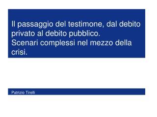 Patrizio Tirelli
