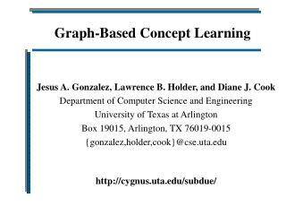 Graph-Based Concept Learning