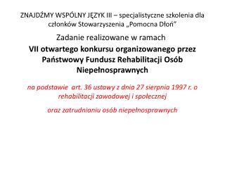 """w dniach 17 – 24 październik 2011r  w ośrodku """"Zagroda Kuwasy"""" w Woźnejwsi"""