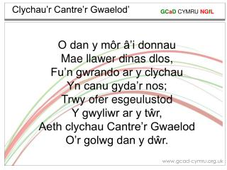 Clychau�r Cantre�r Gwaelod�