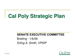 Cal Poly Strategic Plan