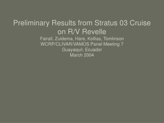 PACS STRATUS 2003