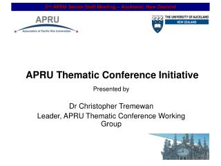 APRU Thematic Conference Initiative