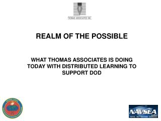 REALM OF THE POSSIBLE