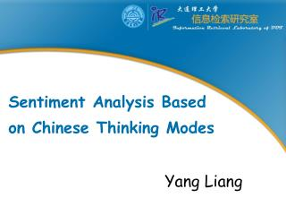 Sentiment Analysis Based  on Chinese Thinking Modes