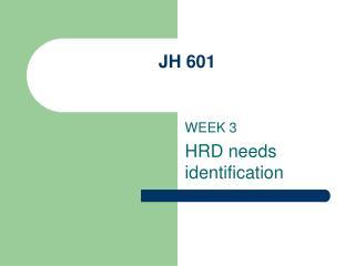 JH 601