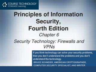 Principles of Information Security,  Fourth Edition