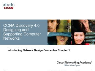 CCNA Discovery 4.0 Designing and Supporting Computer Networks