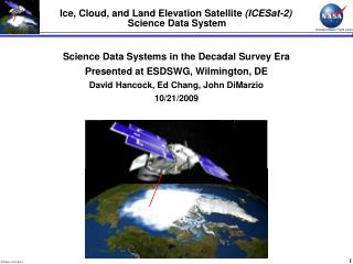Ice, Cloud, and Land Elevation Satellite  (ICESat-2)  Science Data System