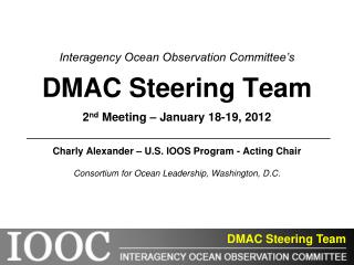 DMAC Steering Team