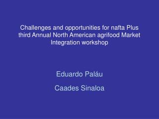 Eduardo Paláu Caades Sinaloa