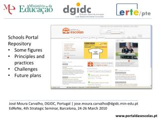 portaldasescolas.pt