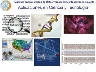 Aplicaciones en Ciencia y Tecnología