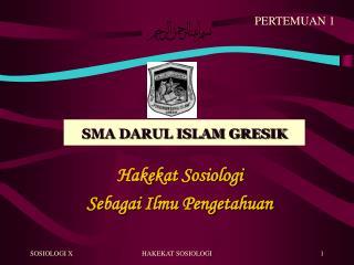 SMA DARUL ISLAM GRESIK