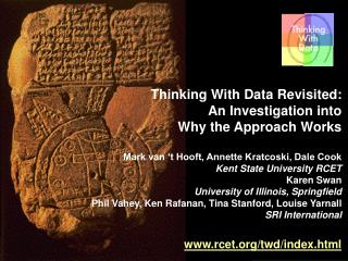 Thinking With Data Revisited:  An Investigation into  Why the Approach Works